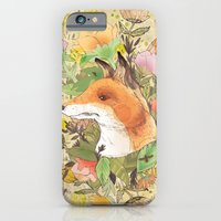 iPhone & iPod Case featuring Wilderness by Jo Cheung Illustration