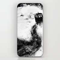 All Of Space And Time iPhone & iPod Skin