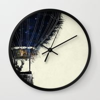 Journey To The Woodlands Wall Clock