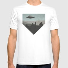 I Want to Know SMALL Mens Fitted Tee White