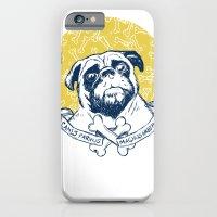 Pug : Small dog, big attitude. iPhone 6 Slim Case
