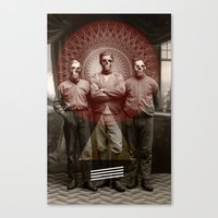 The Good, The Bad and The Dead Man Canvas Print