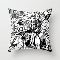 Abstinence Educated Throw Pillow