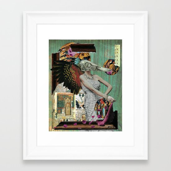 Angel of Decay Framed Art Print