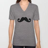 Dia De Los Mustache Unisex V-Neck