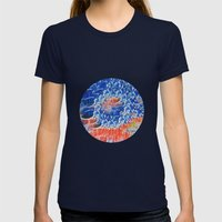 Be Beautiful Womens Fitted Tee Navy SMALL