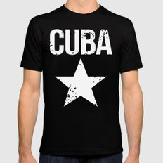 CUBA Black SMALL Mens Fitted Tee