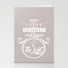 Happiness Can Be Found E… Stationery Cards