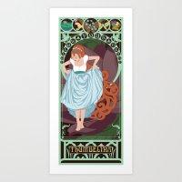 Thumbelina Nouveau - Thu… Art Print