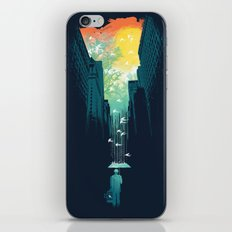 I Want My Blue Sky iPhone & iPod Skin