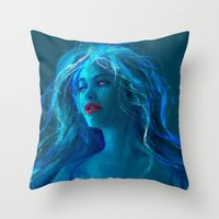 MELANCHOLY PILL Throw Pillow