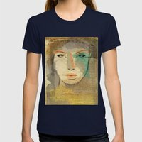 Agata Womens Fitted Tee Navy SMALL