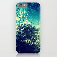 iPhone & iPod Case featuring Raindrops  by Sara Miller