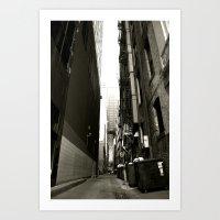 Allycat Art Print