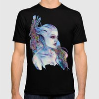 Liara Mens Fitted Tee Black SMALL