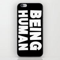 Being Human iPhone & iPod Skin