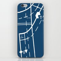 Pattern Master Navy iPhone & iPod Skin