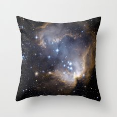 star clusters Throw Pillow