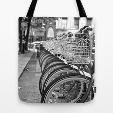 Bike Rack in Dublin Tote Bag