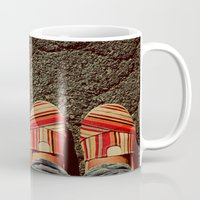 Shoes on Cement Mug