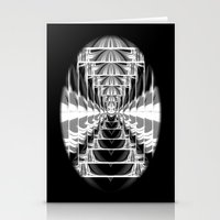 Black+White Abstract.Modern. Stationery Cards