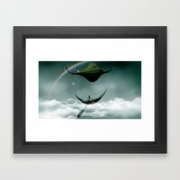 Sky Traveler Framed Art Print