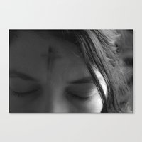 The Sign Of The Cross  Canvas Print