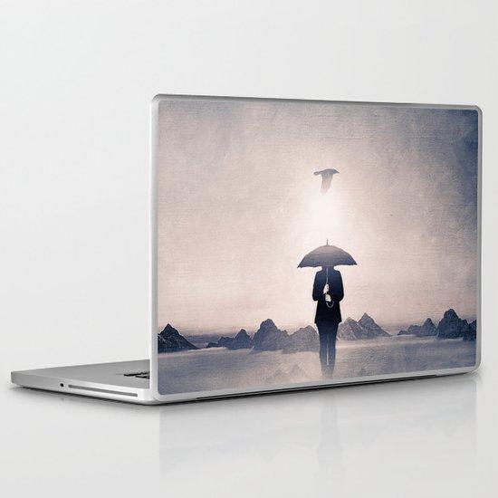 Waiting for the rain (colour option) Laptop & iPad Skin