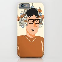 iPhone & iPod Case featuring Musical houses by andres lozano