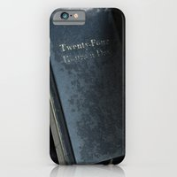 24 Hours A Day iPhone 6 Slim Case