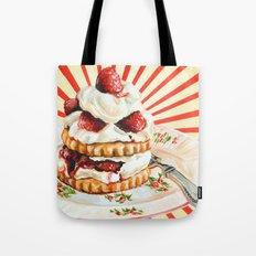 Raspberry Shortcake Tote Bag