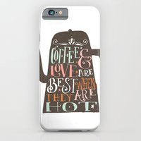 iPhone & iPod Case featuring COFFE & LOVE by Matthew Taylor Wilson