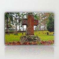 Tacoma Cemetery scene Laptop & iPad Skin