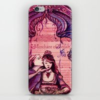Portia - Shakespeare's M… iPhone & iPod Skin