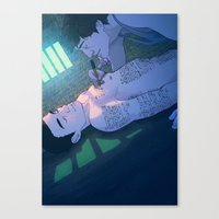James & Joel Canvas Print