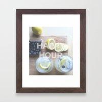 clink Framed Art Print