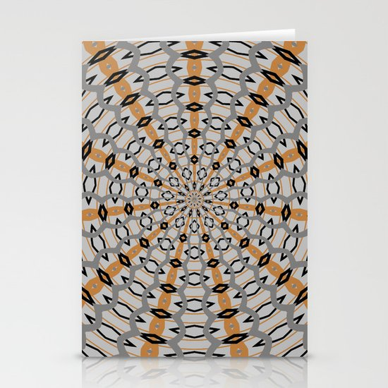 Patterns Stationery Card
