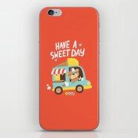 Ice Cream Bear iPhone & iPod Skin