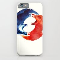 iPhone Cases featuring Ying yang by Robert Farkas