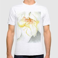 White Orchid Mens Fitted Tee Ash Grey SMALL