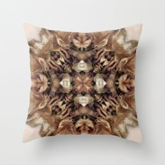 Fet Up and Folded  Throw Pillow
