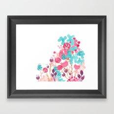 Blush Blossoms Framed Art Print