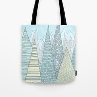 Summer Mountains Tote Bag