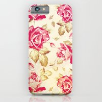 VINTAGE FLOWERS XXIV - for iphone iPhone 6 Slim Case