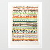 Pattern No.3 Art Print