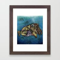 CuttleFish Framed Art Print