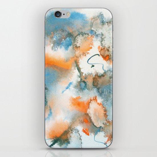 Colour Bursts-Part 1 iPhone & iPod Skin