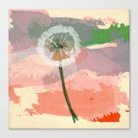 scatter, 2 Canvas Print