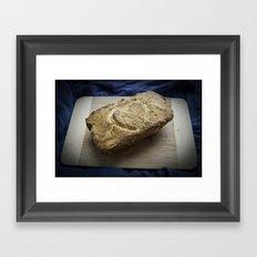 love bread Framed Art Print