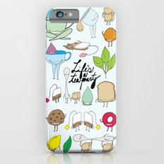 Life's a tea party Slim Case iPhone 6s
